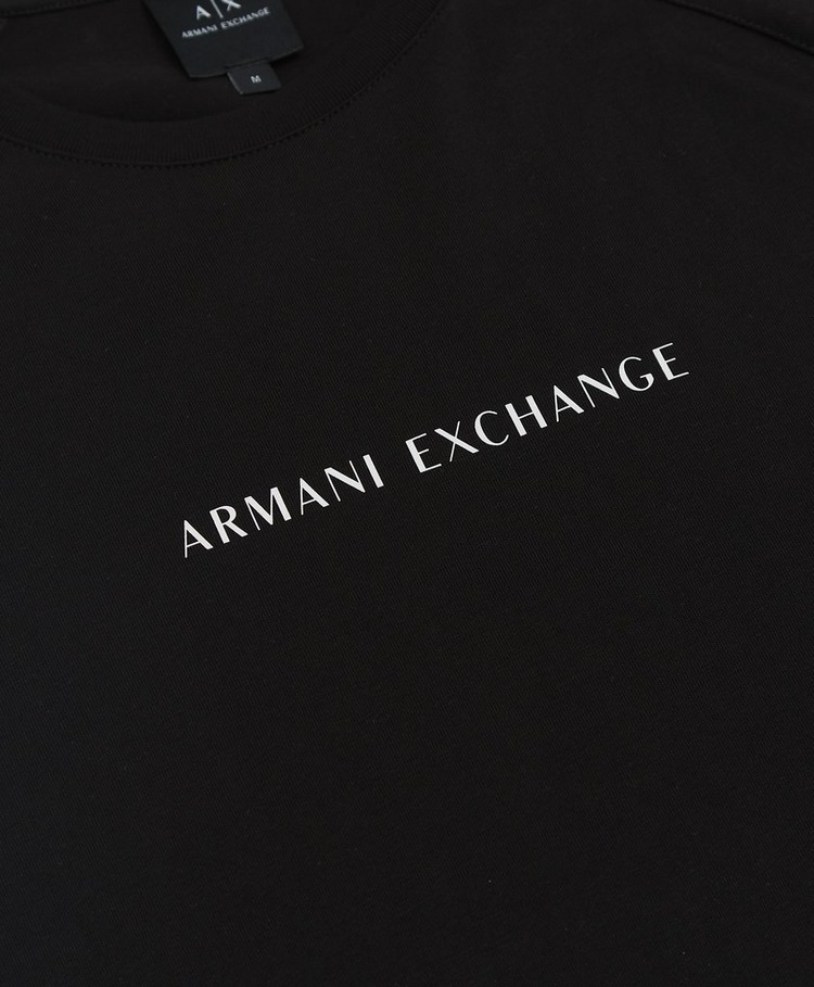 Armani Exchange Central Logo Short Sleeve Tape T-Shirt