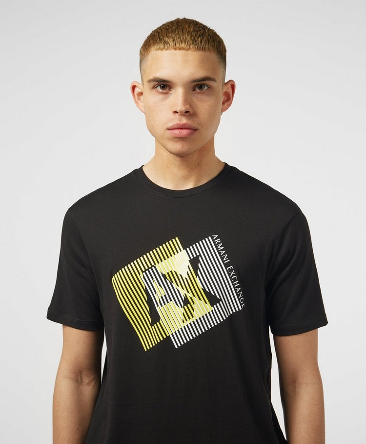Armani Exchange Overlap Logo Short Sleeve T-Shirt