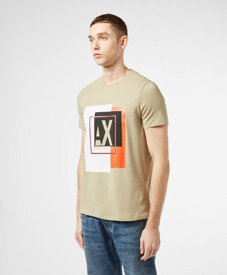Armani Exchange Geo Logo Short Sleeve T-Shirt