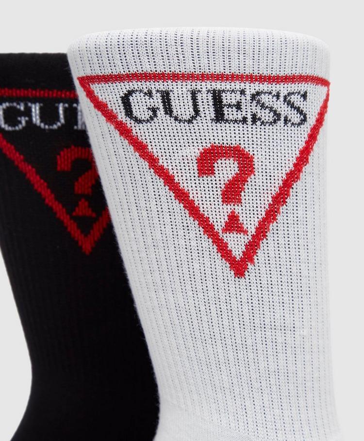 Guess 2 Pack Crew Socks