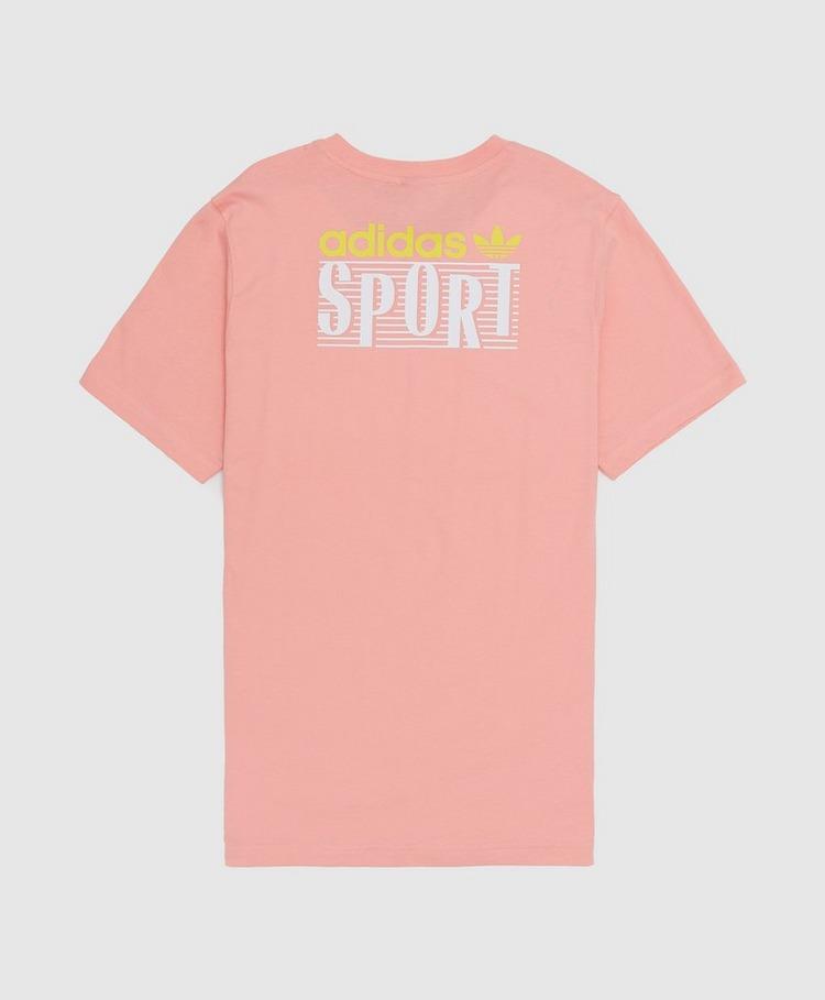 adidas Originals Sport Back Print Short Sleeve T-Shirt