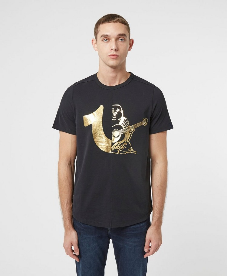 True Religion Buddha Shoe Short Sleeve T-Shirt