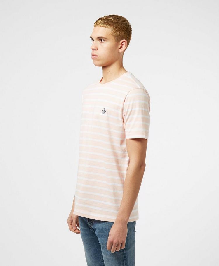 Original Penguin Breton Short Sleeve Stripe T-Shirt