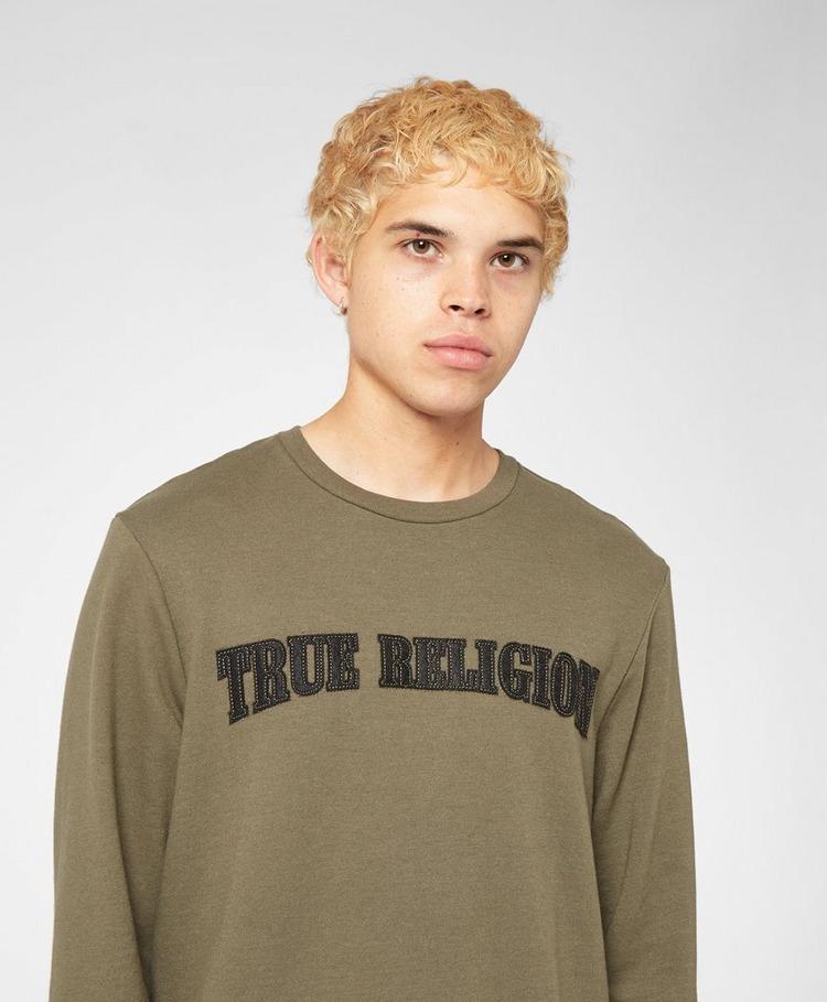 True Religion Felt Logo Sweatshirt