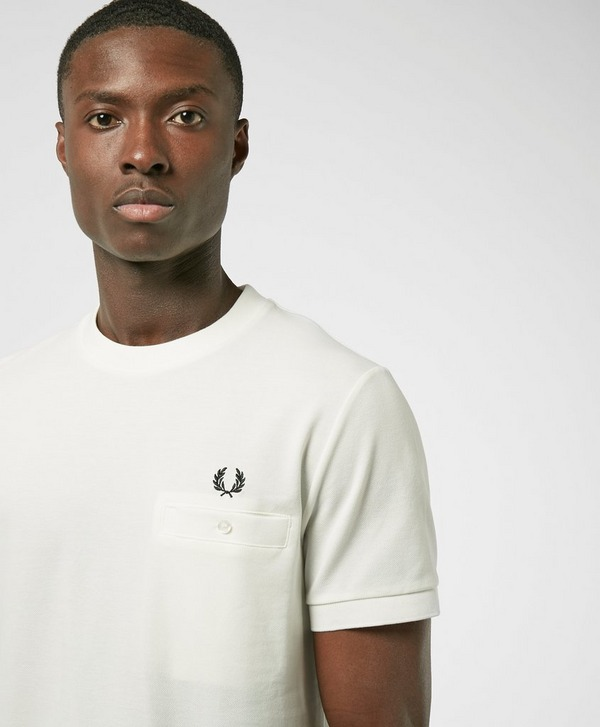 Fred Perry Pocket Pique Short Sleeve T-Shirt