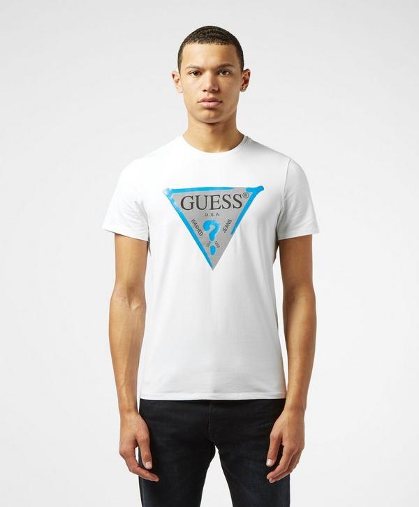 Guess Sprayer Logo Short Sleeve T-Shirt