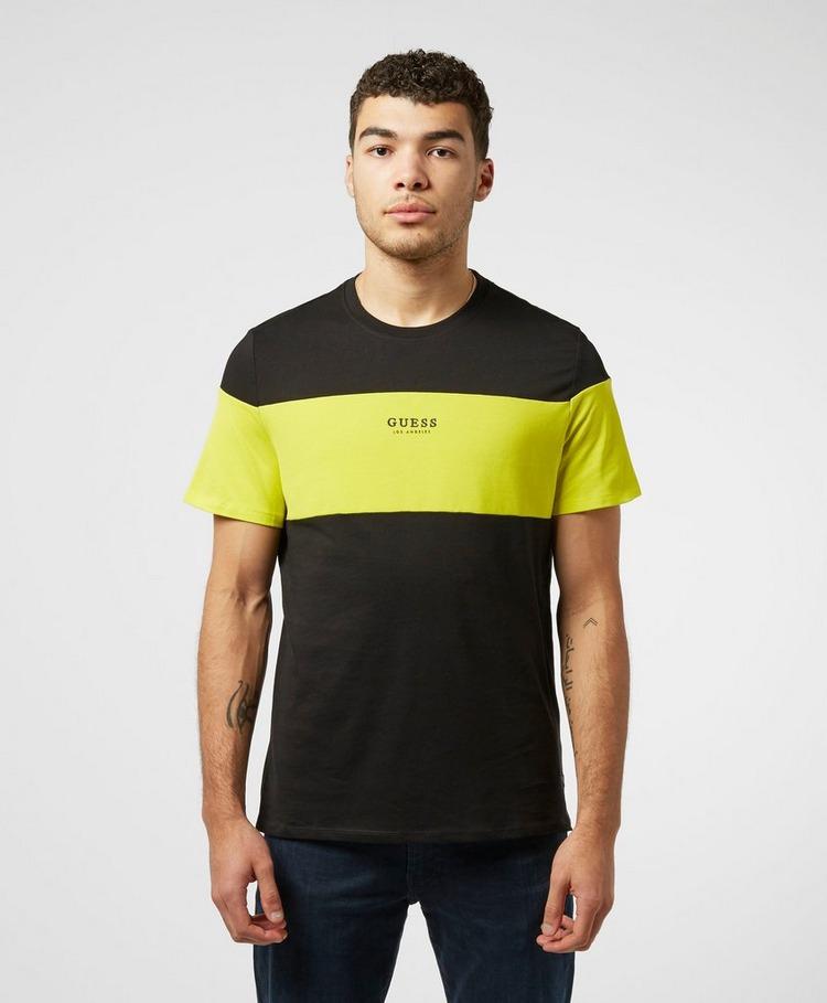 Guess Block Short Sleeve T-Shirt