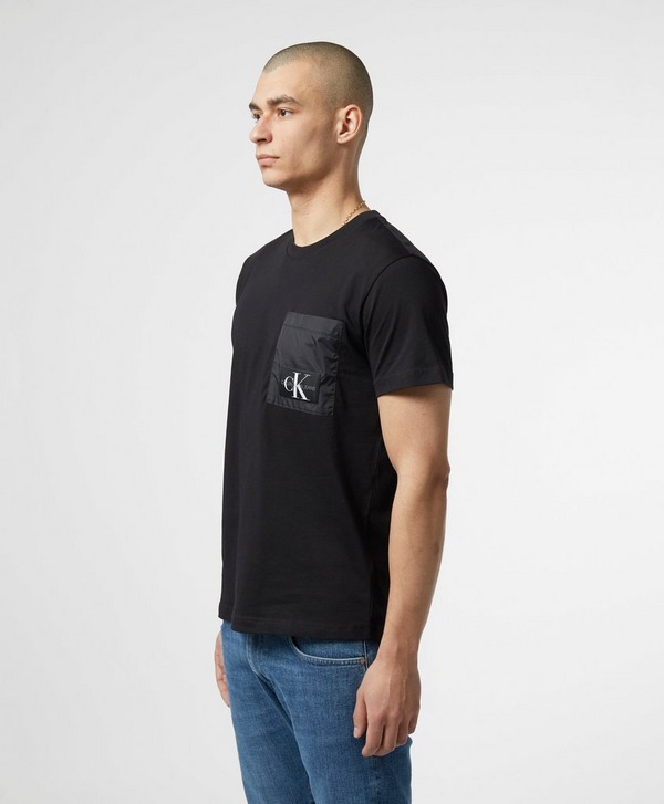 Material Mix T shirt CALVIN KLEIN