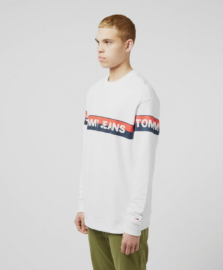 Tommy Jeans Band Logo Sweatshirt