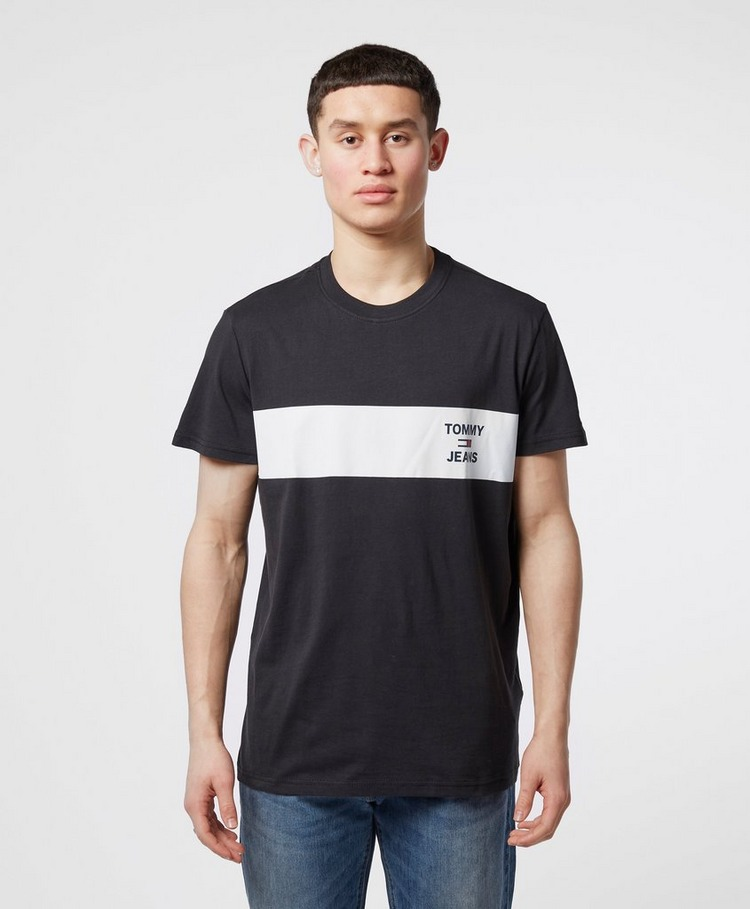 Tommy Jeans Chest Stripe Short Sleeve T-Shirt