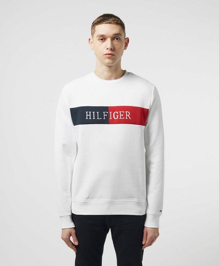 Tommy Hilfiger Intarsia Crew Sweatshirt