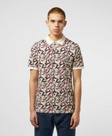 Pretty Green Beaufort All Over Floral Paisley Polo Shirt