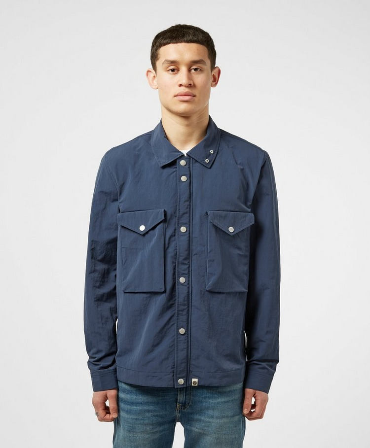 Pretty Green Dennett Iridescent Overshirt - Exclusive