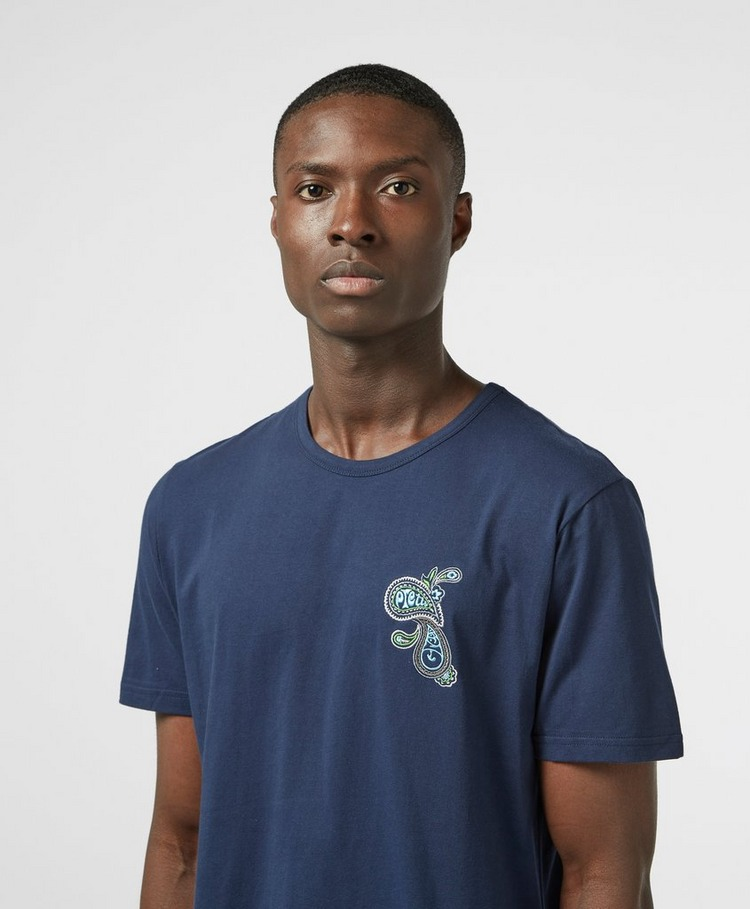 Pretty Green Marshall Emblem Short Sleeve T-Shirt