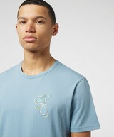Pretty Green Marshall Embroidered Logo Short Sleeve T-Shirt