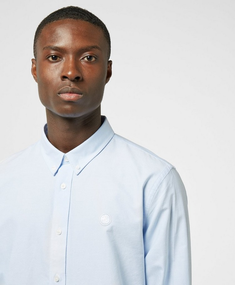 Pretty Green Sterling Oxford Long Sleeve Shirt