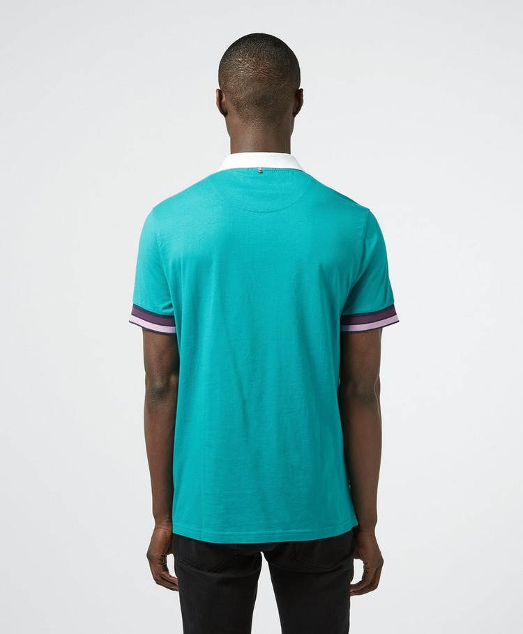 Pretty Green Durville Contrast Short Sleeve Polo Shirt