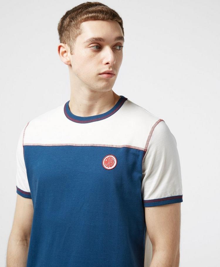 Pretty Green Solomon Colour Block Short Sleeve T-Shirt