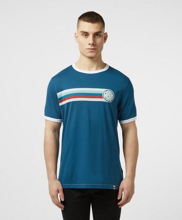 Pretty Green Timor Ringer Short Sleeve T-Shirt