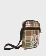 Fred Perry Check Cross Body Bag