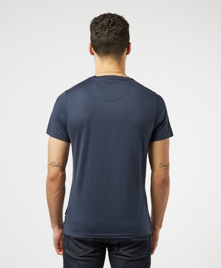 Barbour Durn Tartan Trim Short Sleeve T-Shirt