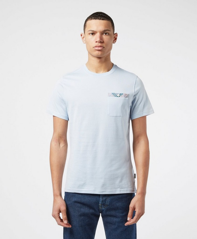 Barbour Durn Tartan Trim Short Sleeve T-Shirt