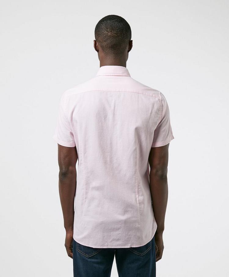 Barbour Oxford Short Sleeve Pocket Shirt