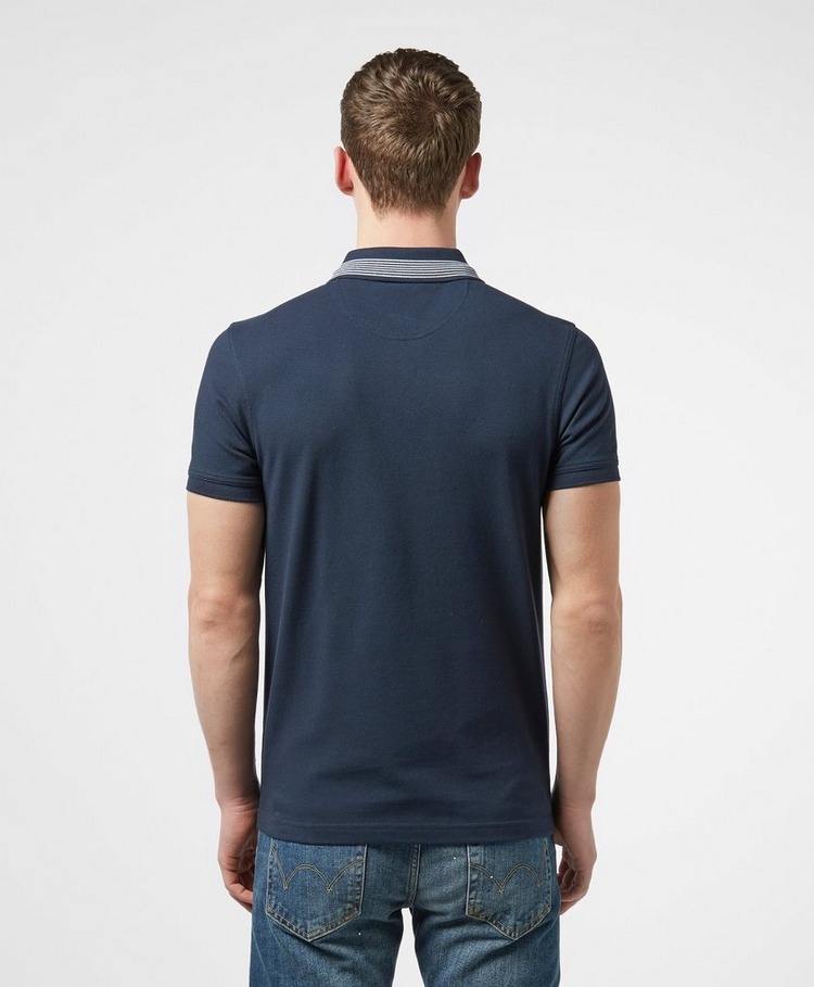 Barbour Tipped Collar Short Sleeve Polo Shirt