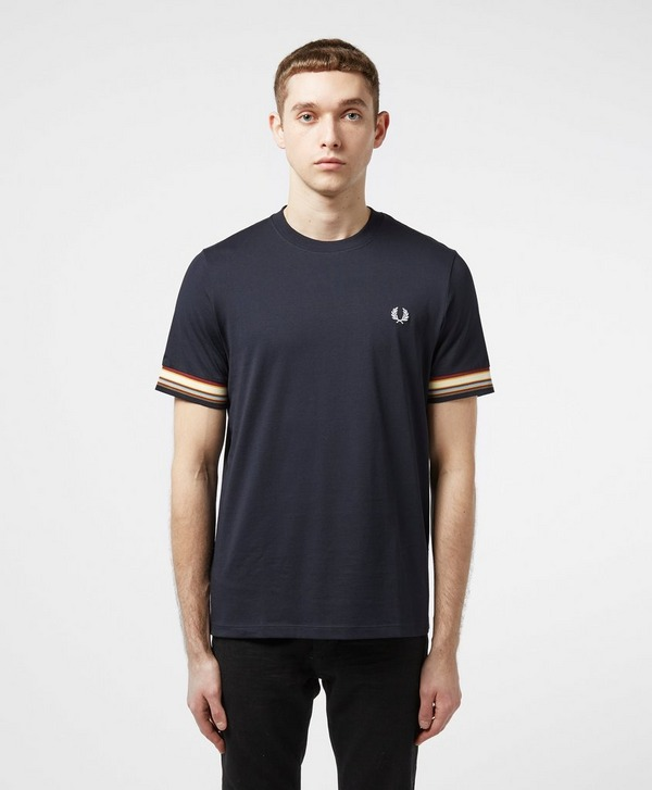 Fred Perry Multi Stripe Short Sleeve T-Shirt - Exclusive