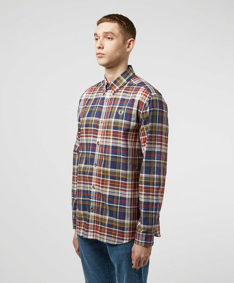 Fred Perry Checked Long Sleeve Shirt - Online Exclusive