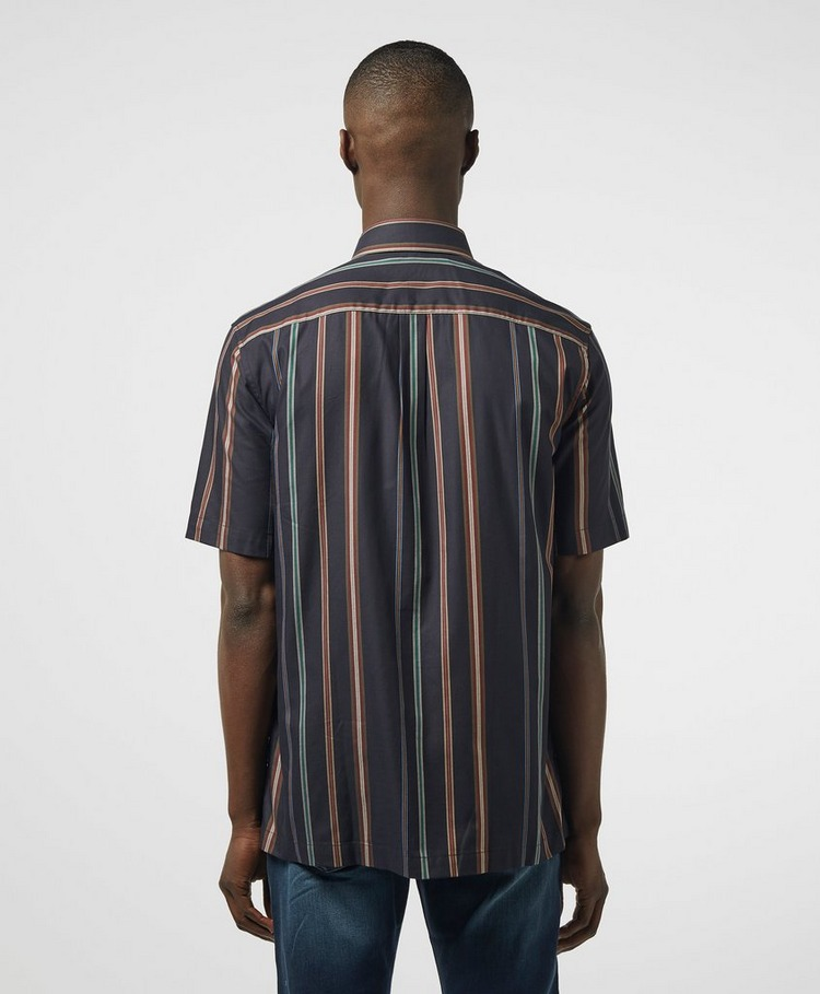 Fred Perry Stripe Short Sleeve Shirt