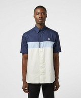 Fred Perry Colour Block Short Sleeve Shirt