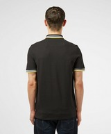 GUESS Tipped Collar Short Sleeve Polo Shirt