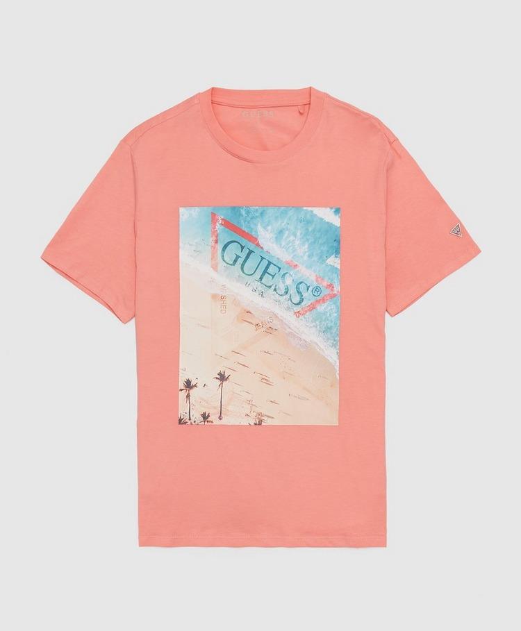 GUESS Pool Block Short Sleeve T-Shirt