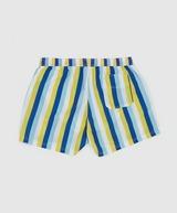 GUESS Woven Stripe Swim Shorts