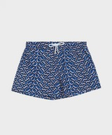 GUESS Logo Print Swim Shorts