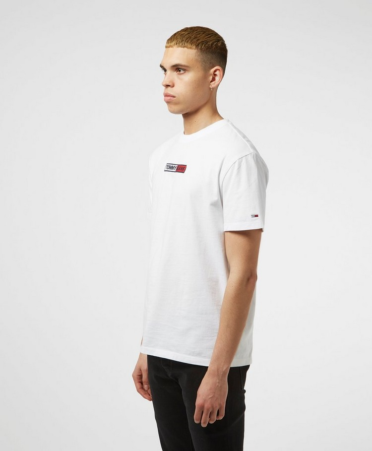Tommy Jeans Embroidered Box Logo Short Sleeve T-Shirt