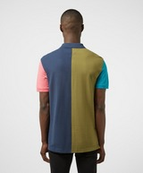 Tommy Jeans Colour Block Short Sleeve Badge Polo Shirt