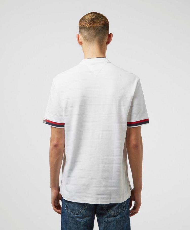 Tommy Jeans Baseball Collar Short Sleeve Polo Shirt