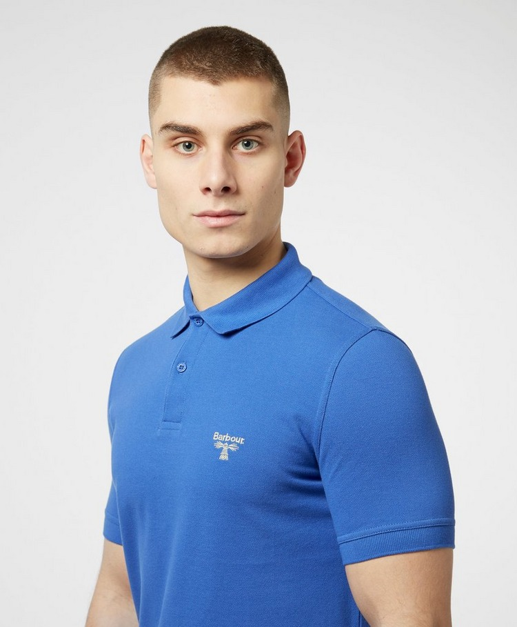 Barbour Beacon Small Logo Short Sleeve Polo Shirt Men's