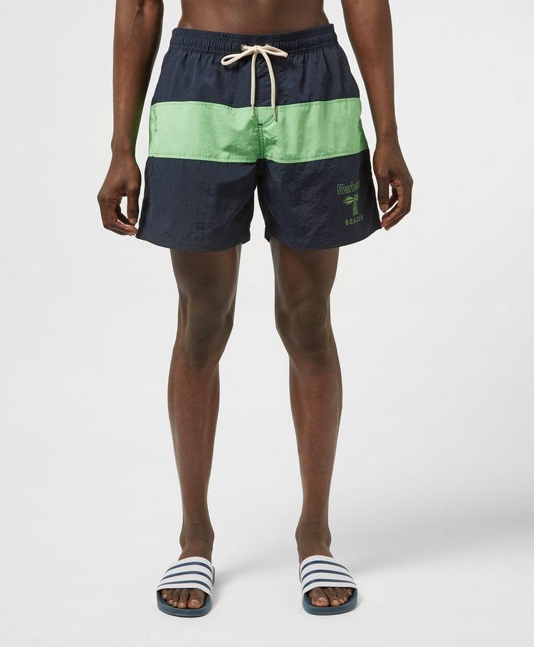 Barbour Beacon Colour Block Swim Shorts