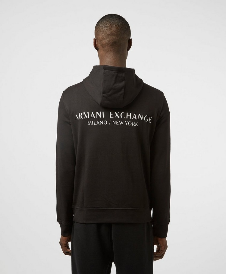 Armani Exchange Central Back Logo Hoodie