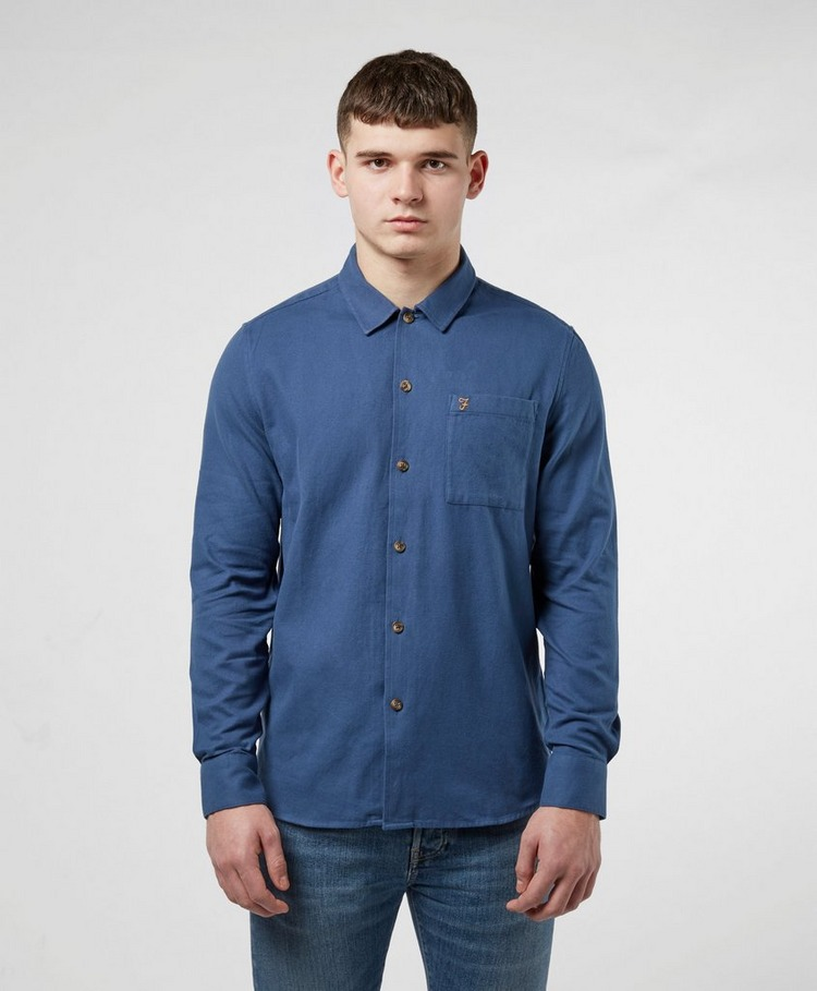 Farah Lindner Brushed Cotton Long Sleeve Shirt
