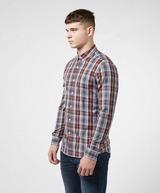 Farah Brewer Tartan Check Long Sleeve Shirt