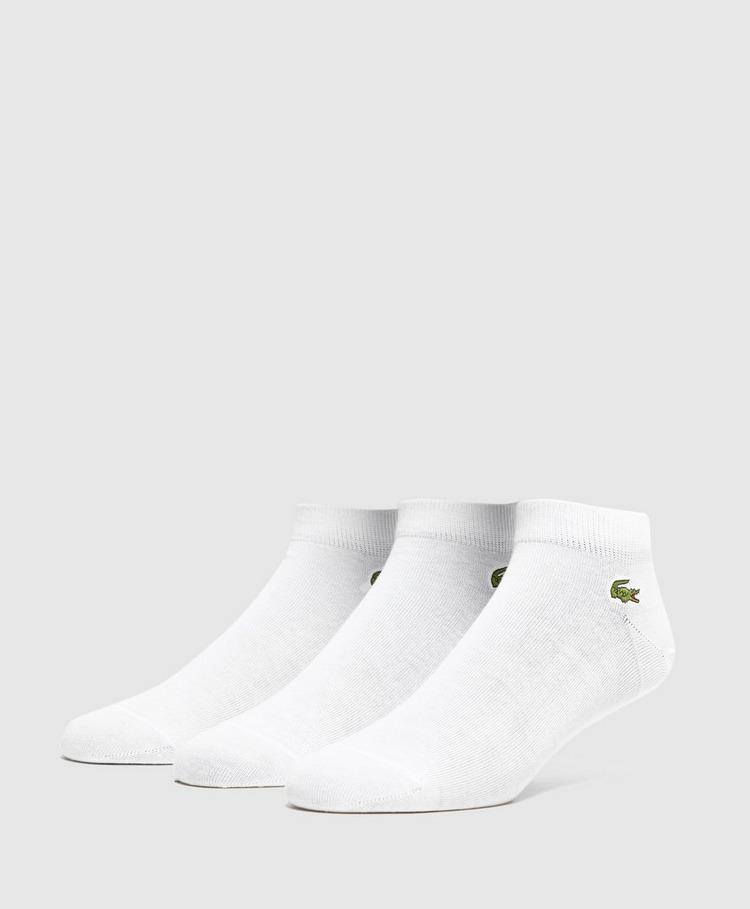 Lacoste 3 Pack Trainer Socks