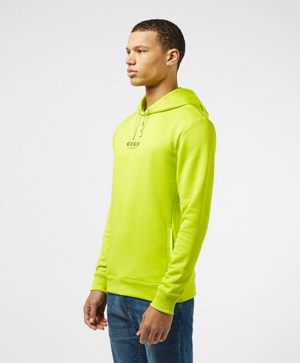 Guess Central Logo Overhead Hoodie