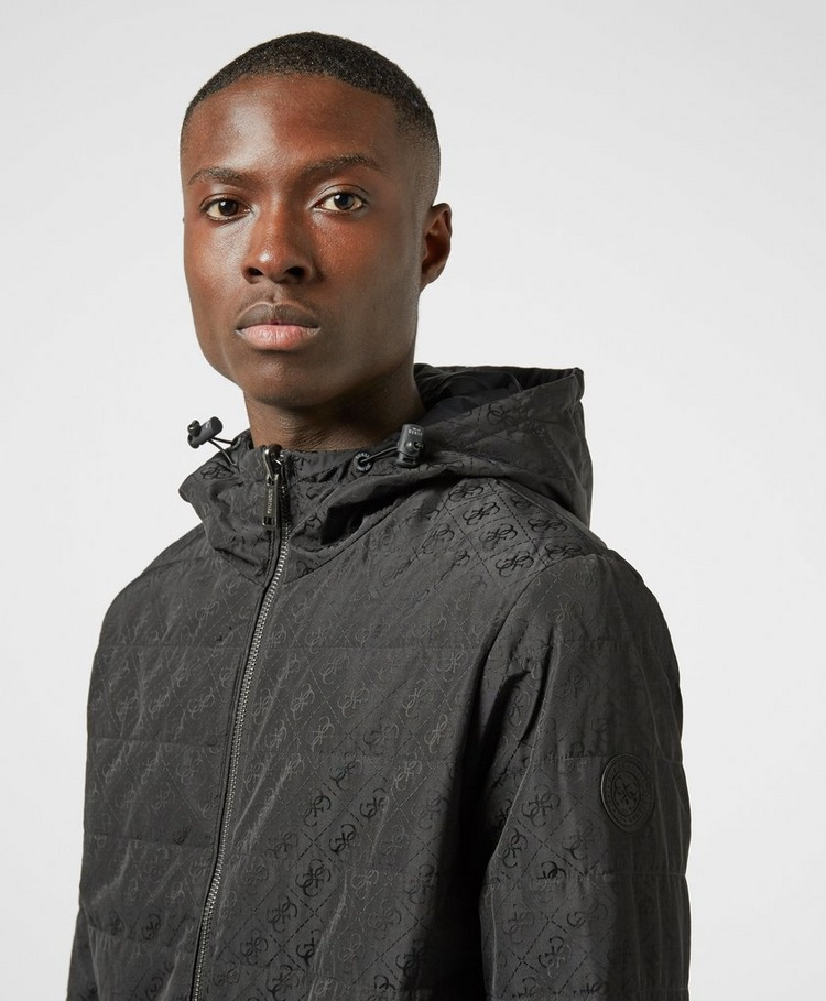 GUESS 4G Jacquard Reversible Padded Jacket