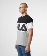 Fila Colour Block Logo Short Sleeve T-Shirt