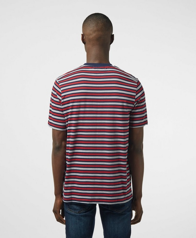 Fila Yarn Stripe Short Sleeve T-Shirt