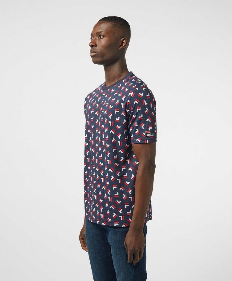 Fila Logo Print Short Sleeve T-Shirt